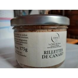 Rillettes de Canard  bocal 175g